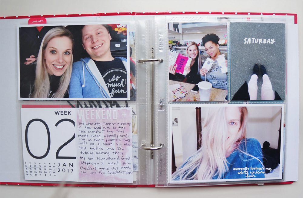 2017 Project Life Set Up and Flip through of January in a 6x8 PL album (13).jpg