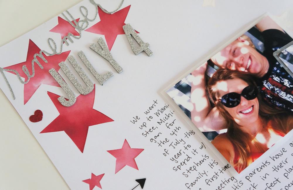 4th of July Scrapbook Layout Stars (2).jpg