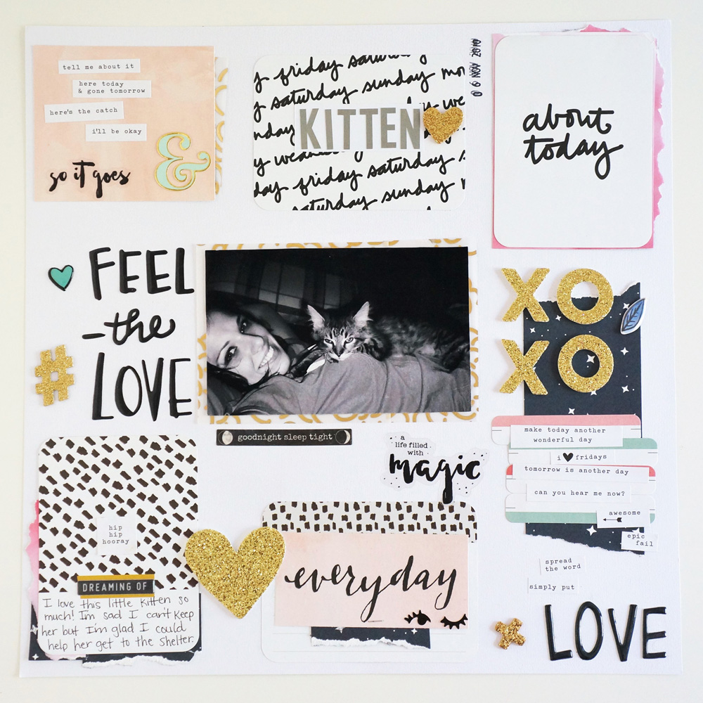 Kitten Layout, 12x12 layout using a grid design and project life cards (1).jpg
