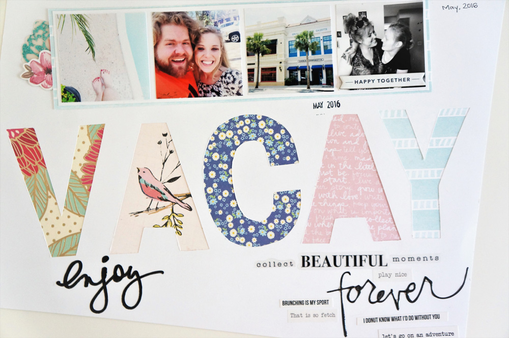 Florida Vacation Scrapbook Layout, Multiple photos on a 12x12 page (1).jpg