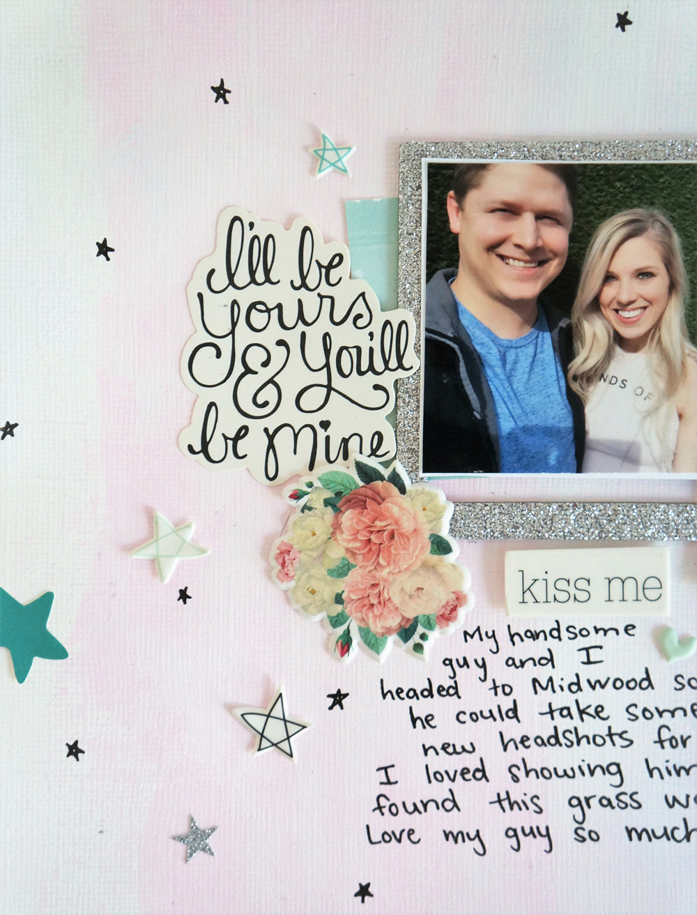 Everyday with You Layout, Watercolor paint background and hand drawn stars (3).jpg