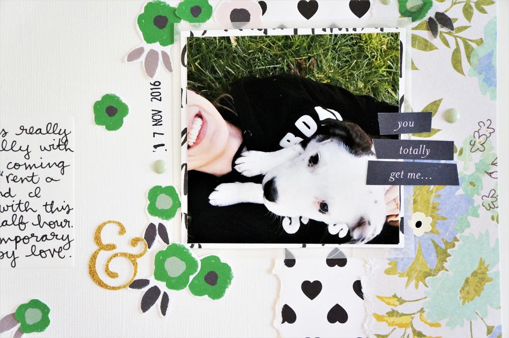 College Campus Puppy Layout 100 Days of Scrapbooking Laura Rahel (3).jpg