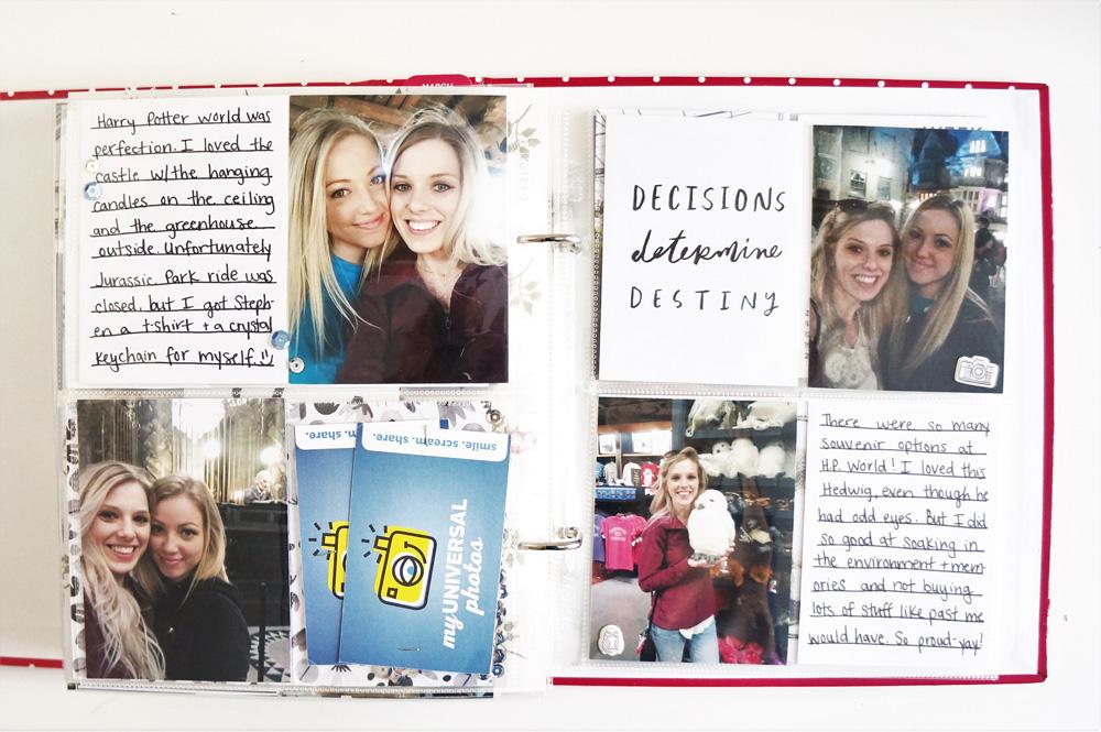 Harry Potter World Scrapbook Mini Album 6x8 Project Life (36).jpg
