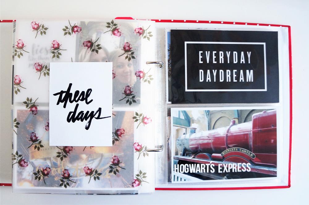 Harry Potter World Scrapbook Mini Album 6x8 Project Life (29).jpg
