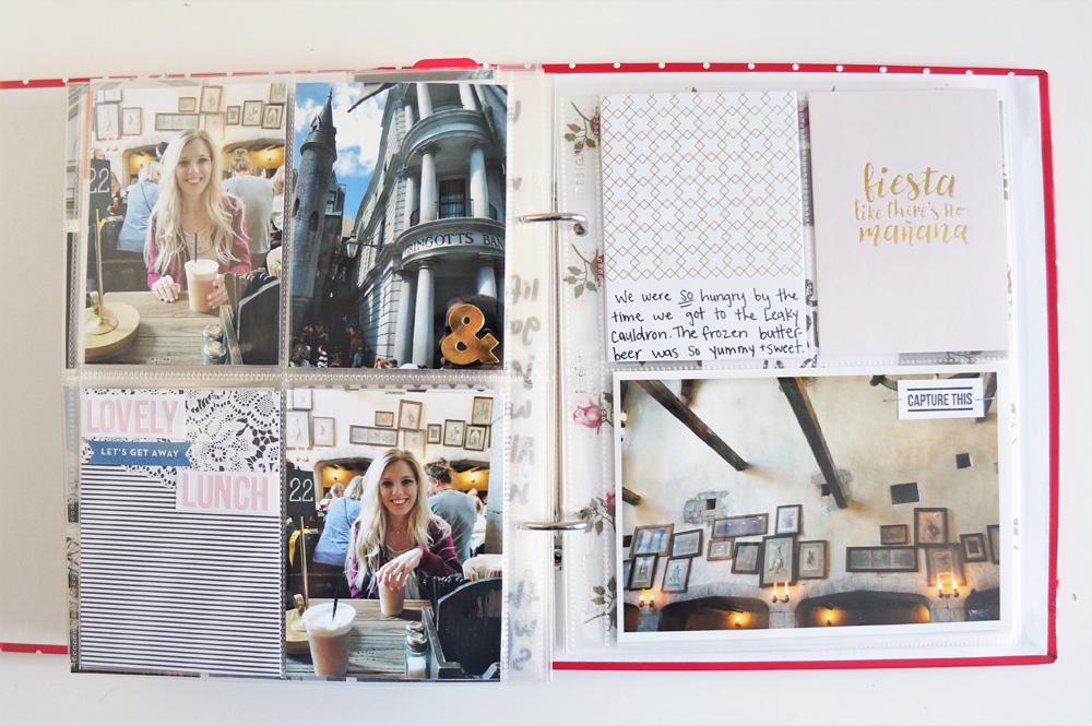 Harry Potter World Scrapbook Mini Album 6x8 Project Life (26).jpg