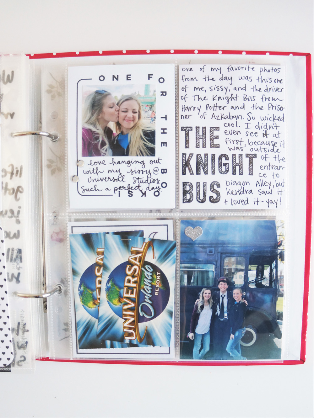 Harry Potter World Scrapbook Mini Album 6x8 Project Life (18).jpg