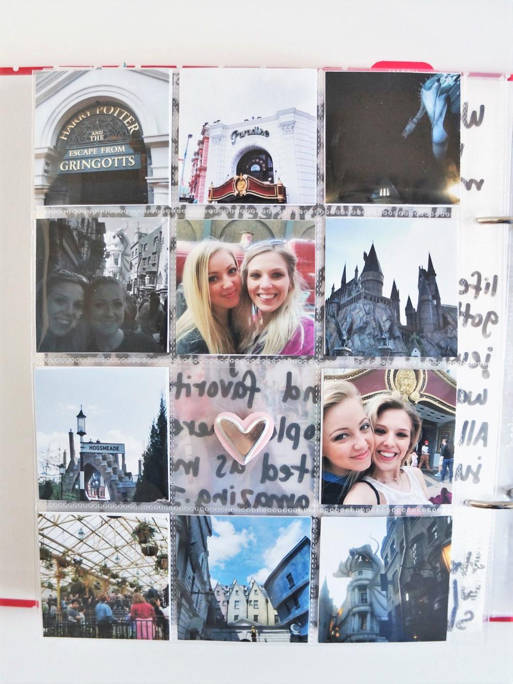 Harry Potter World Scrapbook Mini Album 6x8 Project Life (14).jpg