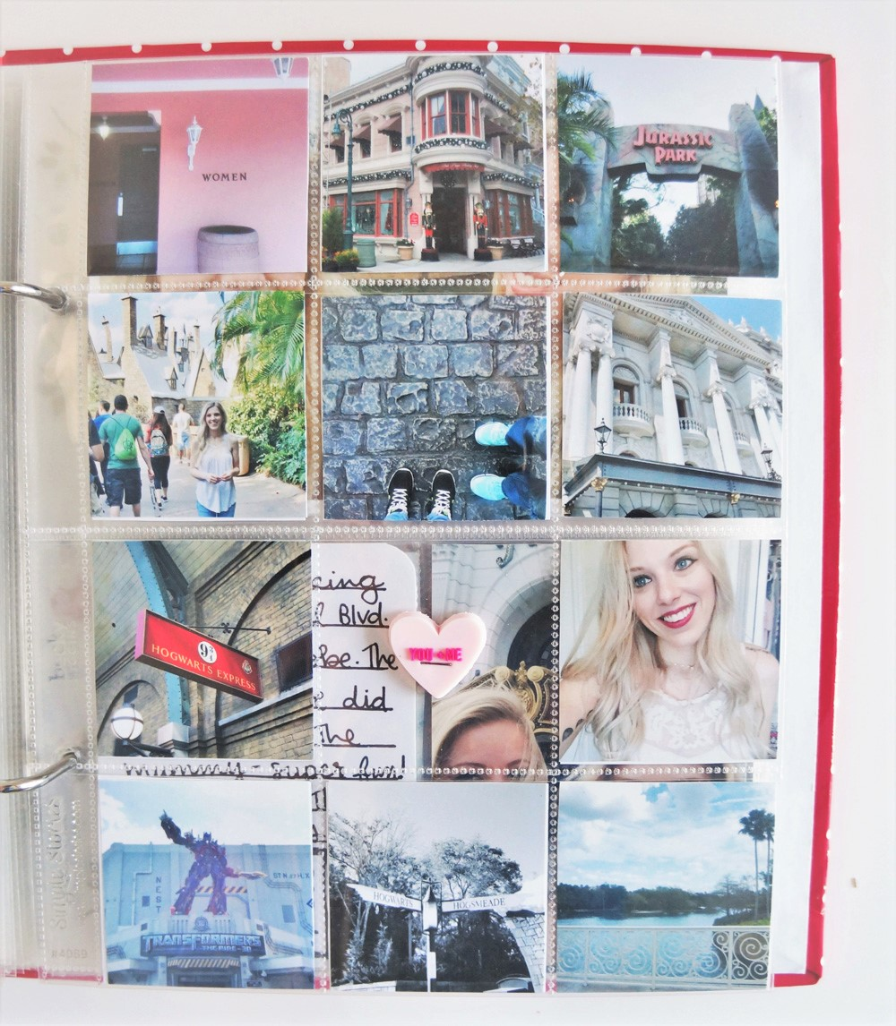 Harry Potter World Scrapbook Mini Album 6x8 Project Life (13).jpg