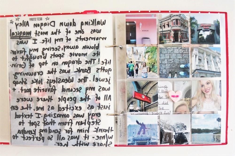 Harry Potter World Scrapbook Mini Album 6x8 Project Life (12).jpg
