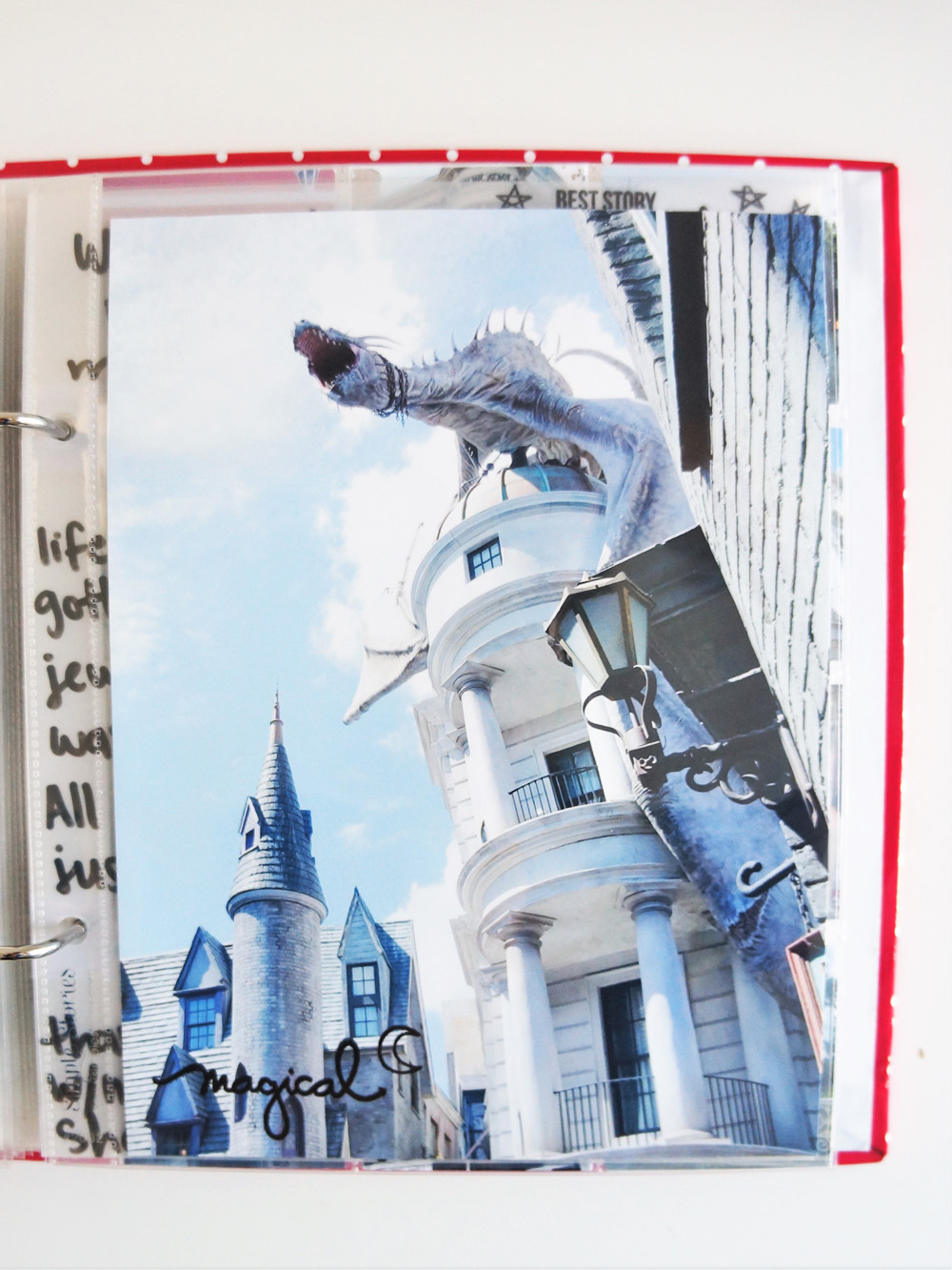 Harry Potter World Scrapbook Mini Album 6x8 Project Life (9).jpg