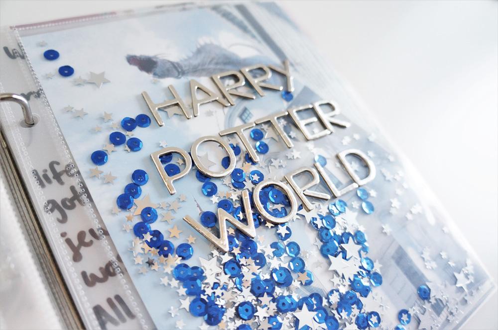 Harry Potter World Scrapbook Mini Album 6x8 Project Life (5).jpg