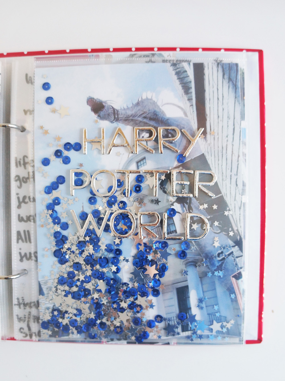 Harry Potter World Scrapbook Mini Album 6x8 Project Life (4).jpg