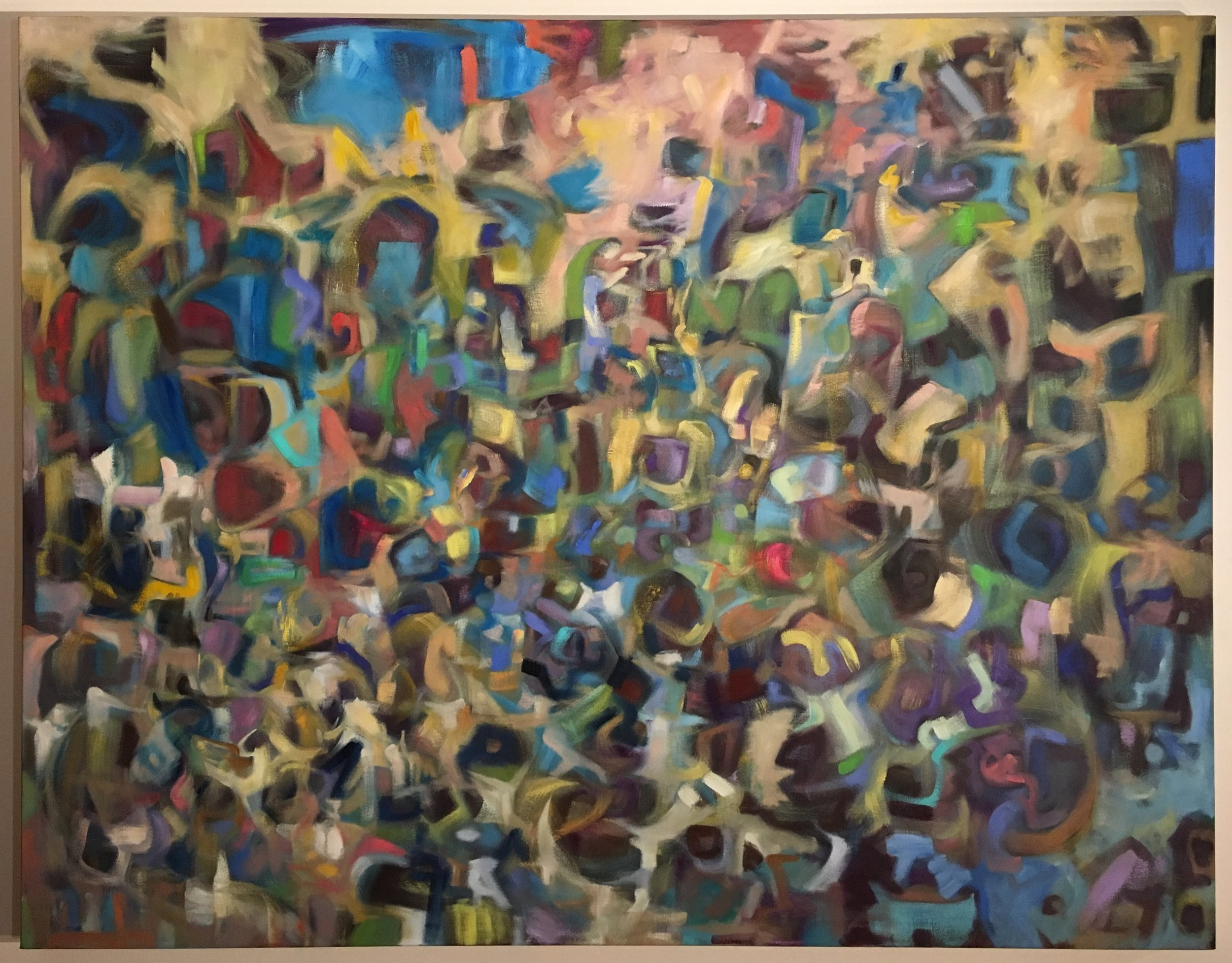 """Apollo and the Continents (Detail)""- after Giambattista Tiepolo; Improvisation for Wynton Marsalis"