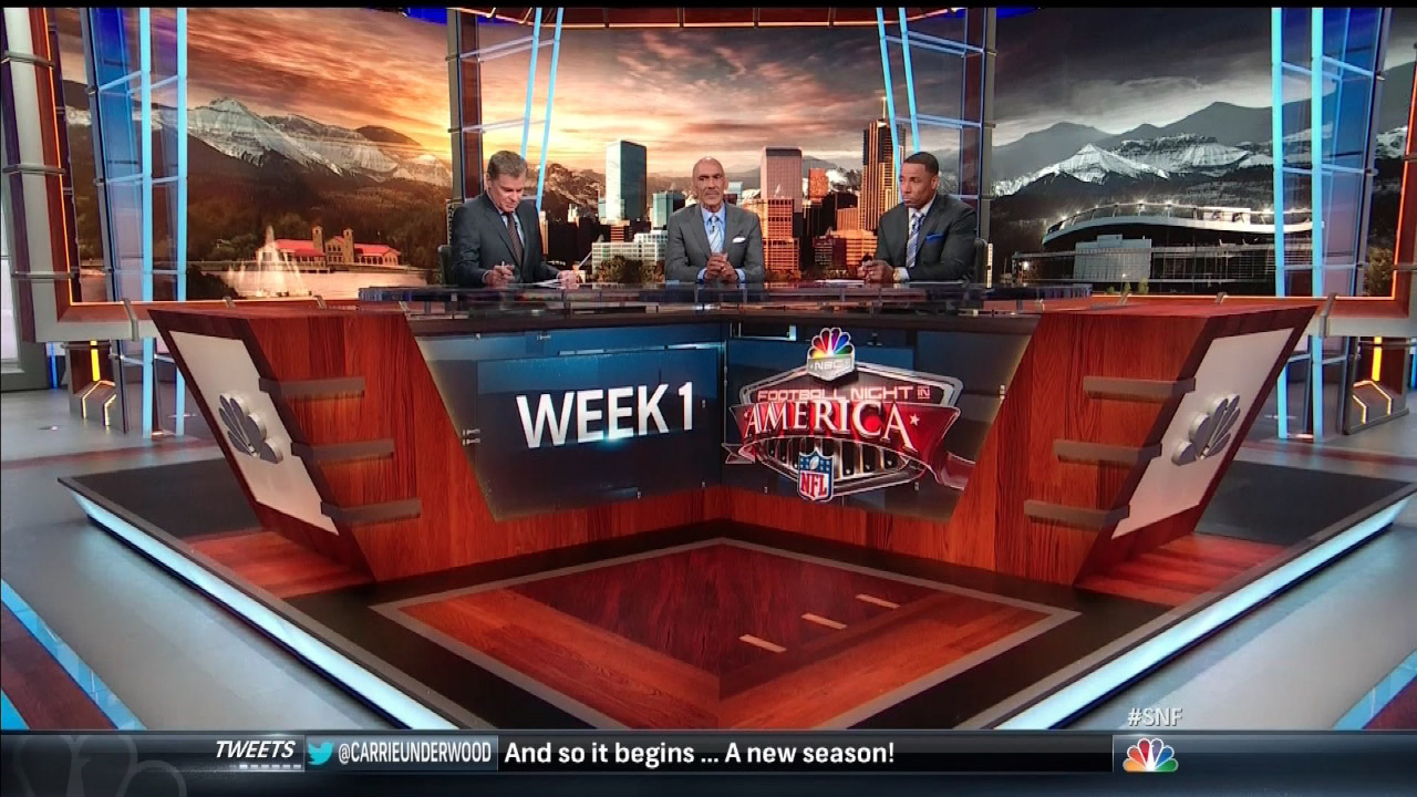 Football Night in America - NBC Sports Network -  visit portfolio