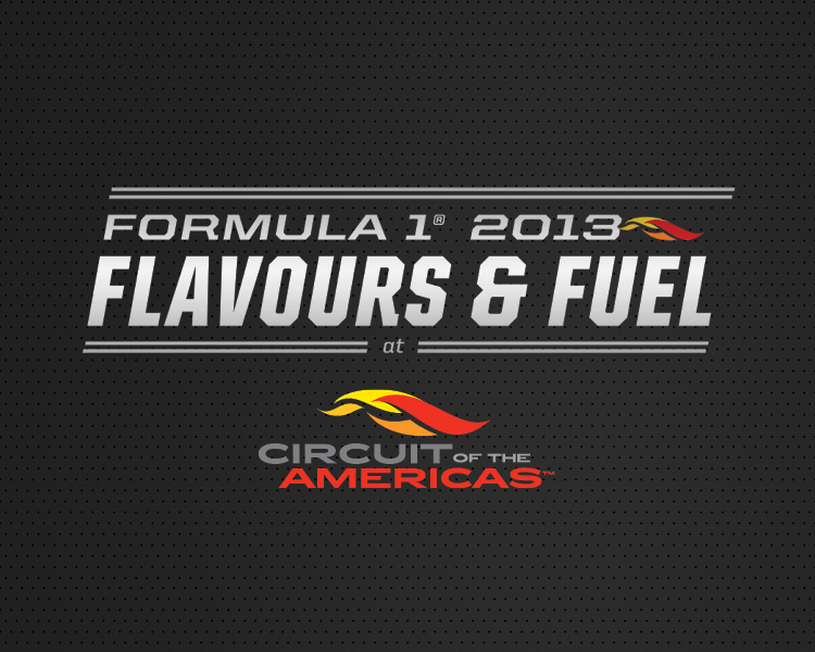 I created the Flavors & Fuel logo for an F1 event at Circuit of the Americas.