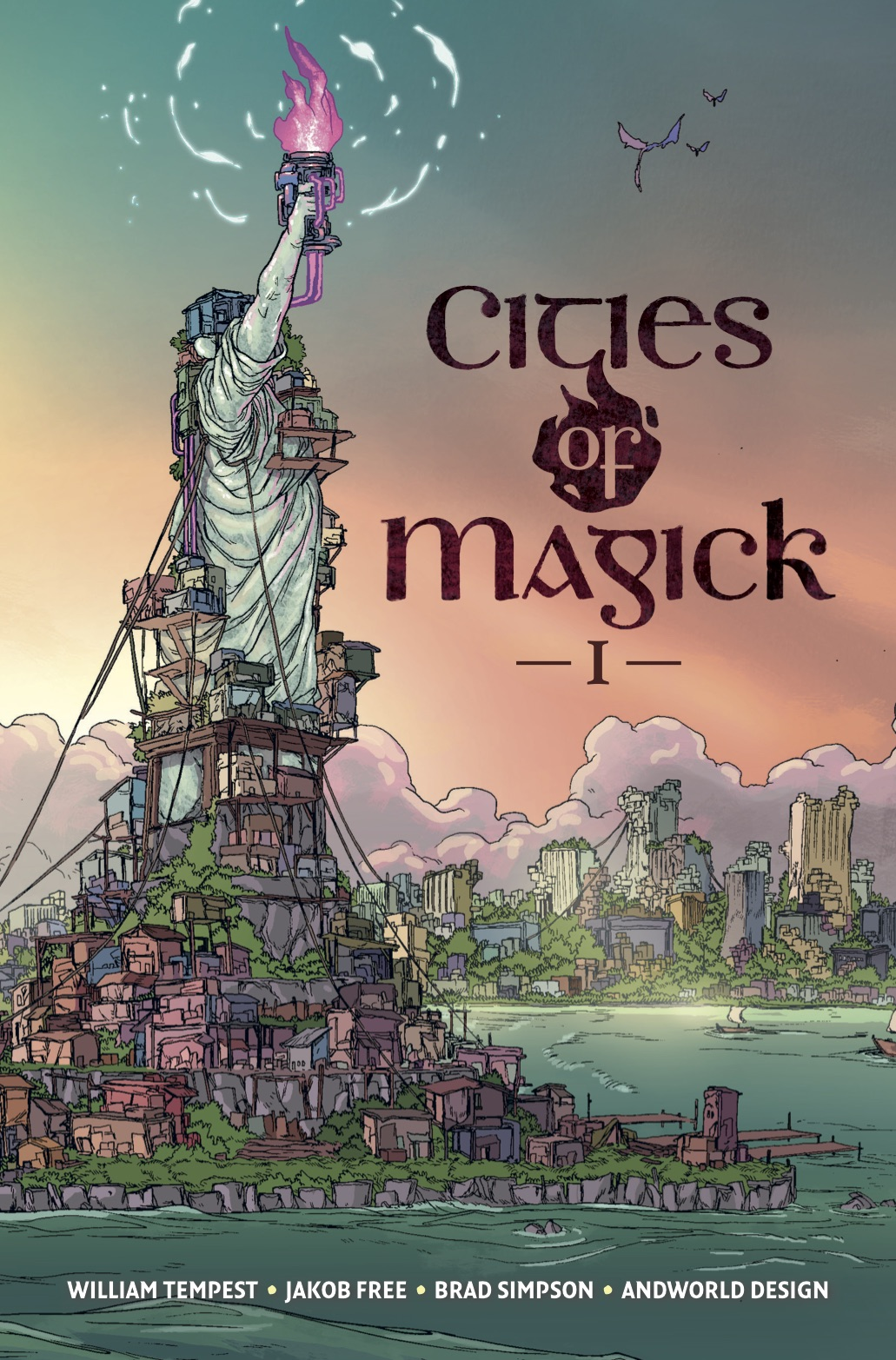 Cities of Magick #1, Cover