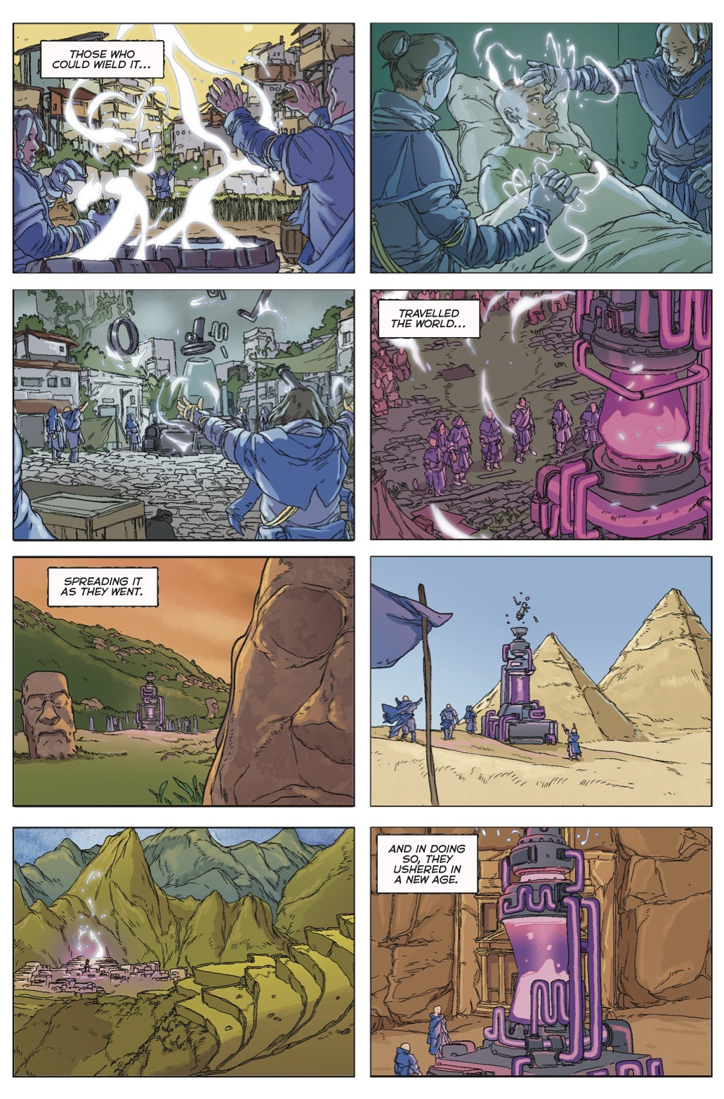 Cities of Magick #1, Pg.5