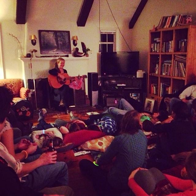 emily elbert house concert