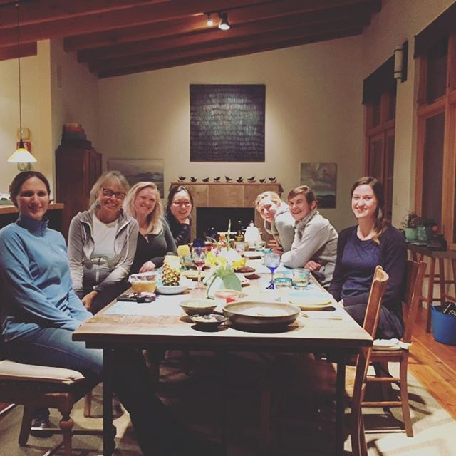 Ladies of The Table hanging out on Monday night. Love the community that is/has been forming this last year. Way to go church!
