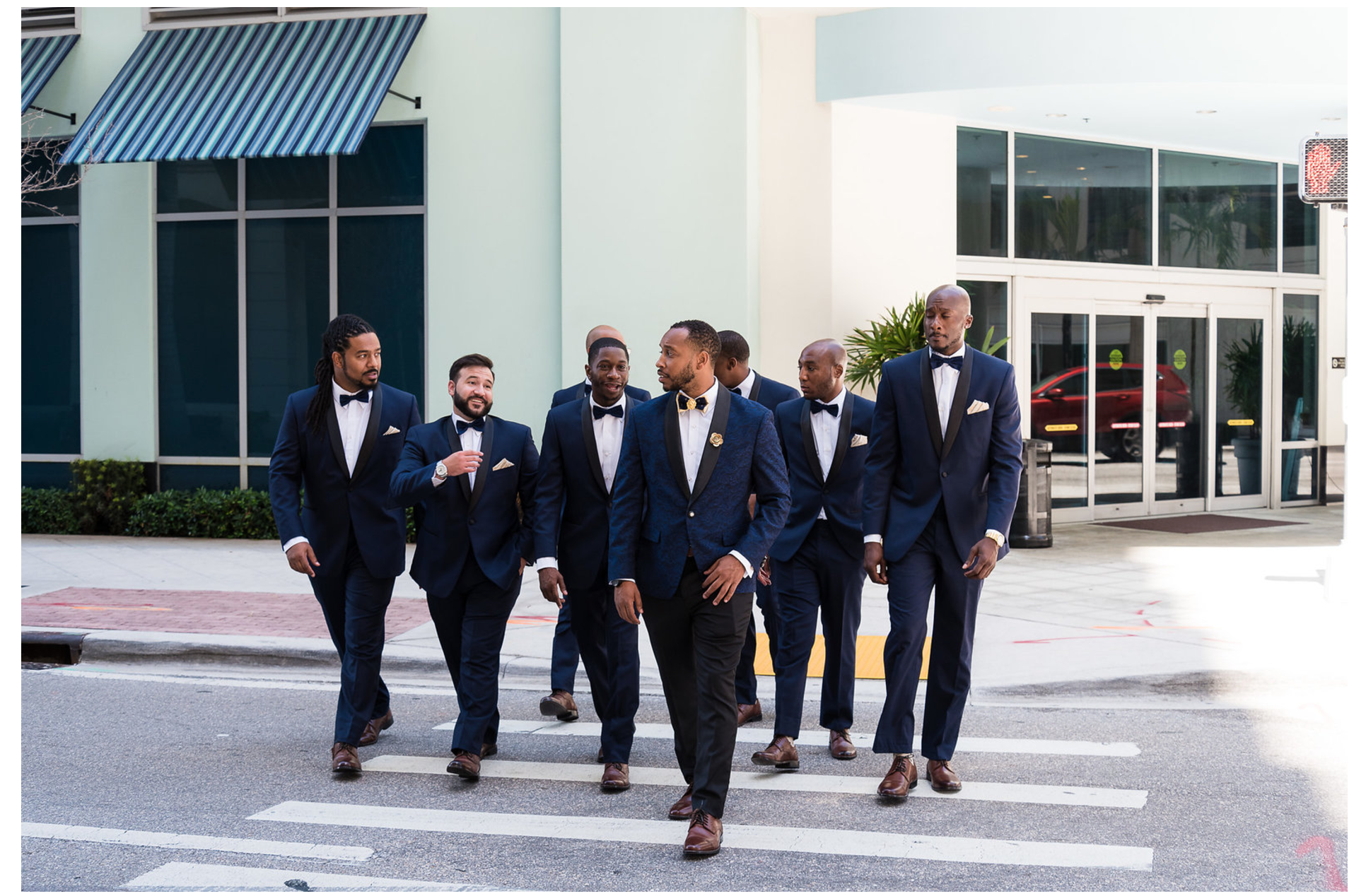 The Groom & His Men - See More