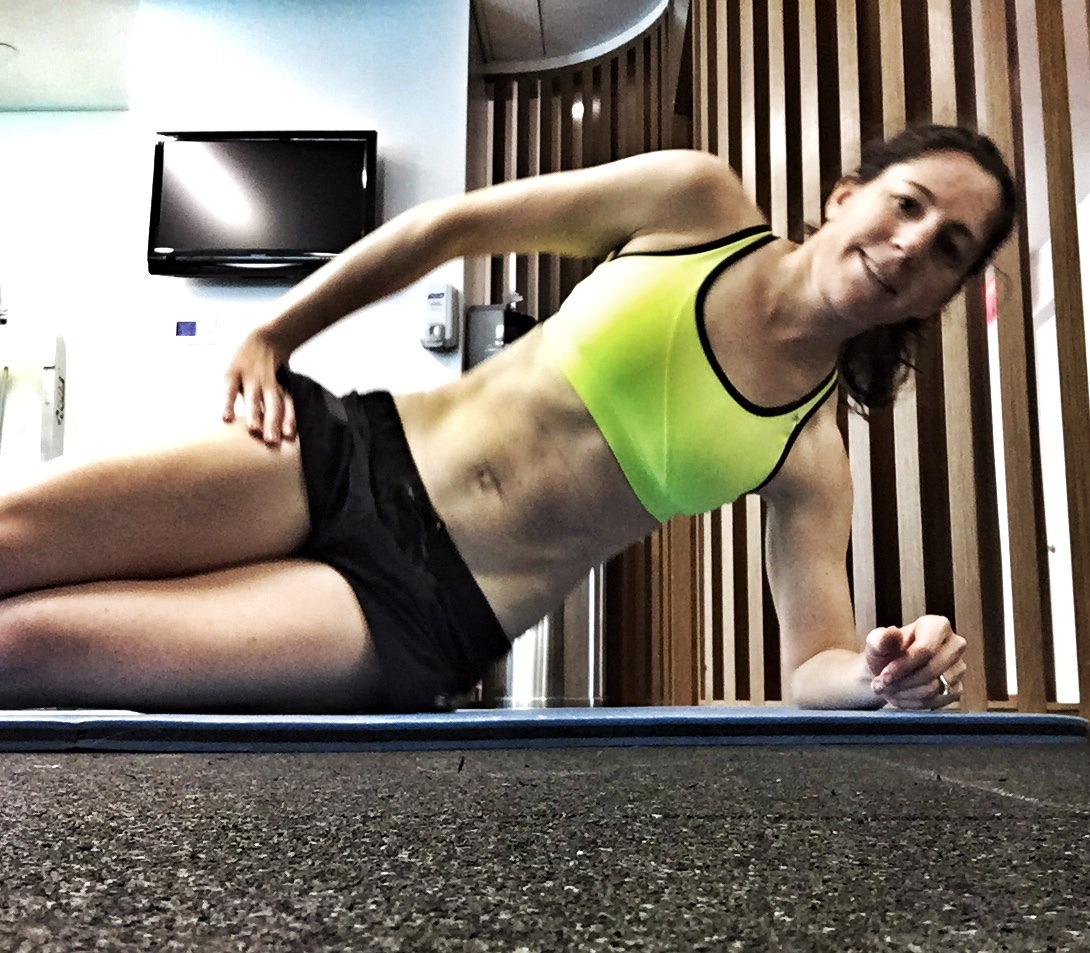 If you want to see real triathlete abs, look at @Caroline_xena's Instagram account.