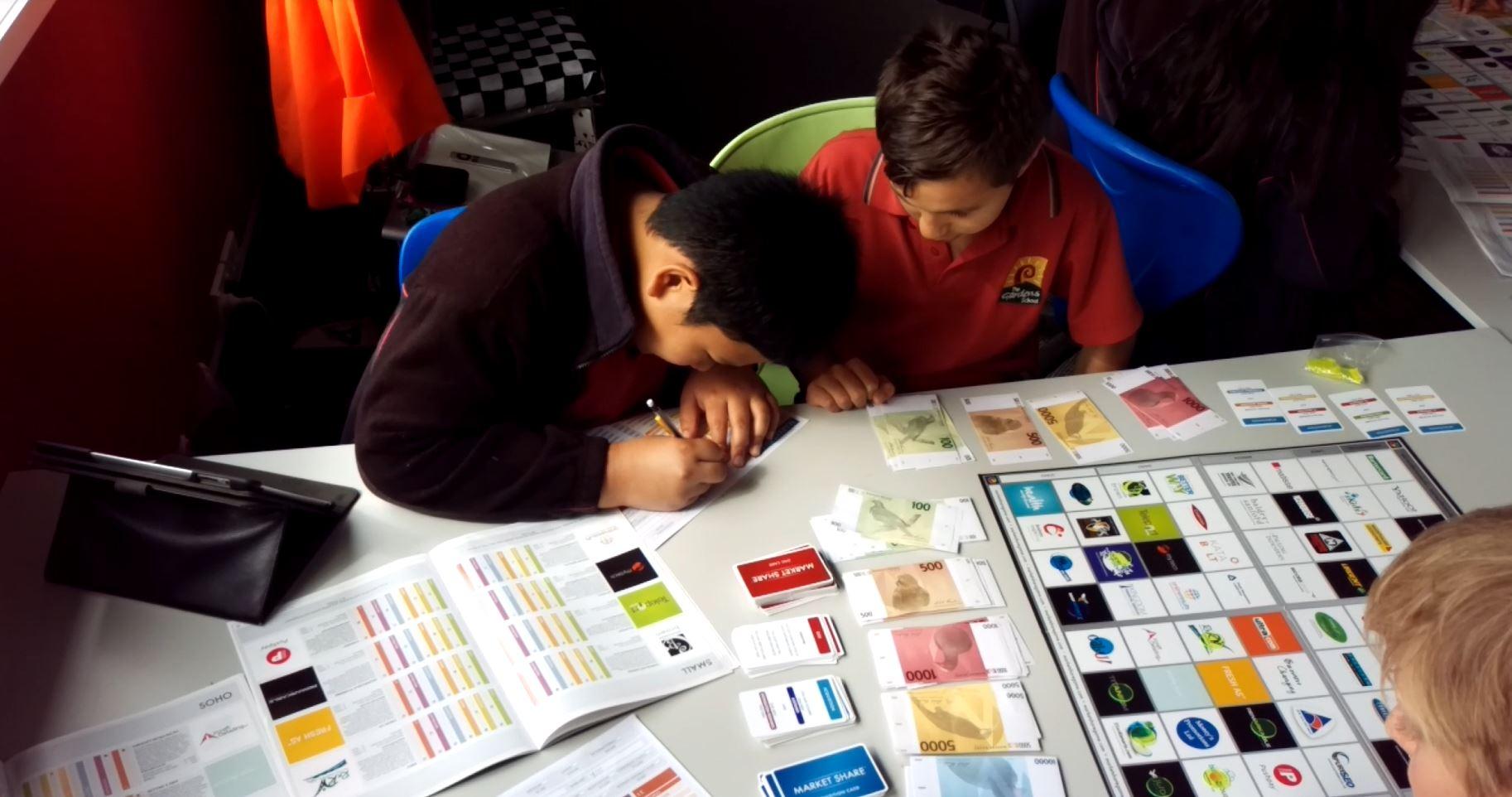 The Gardens School Market Share Game.JPG