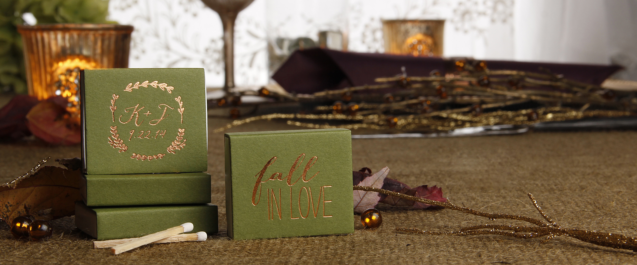 Fall Wedding Matches