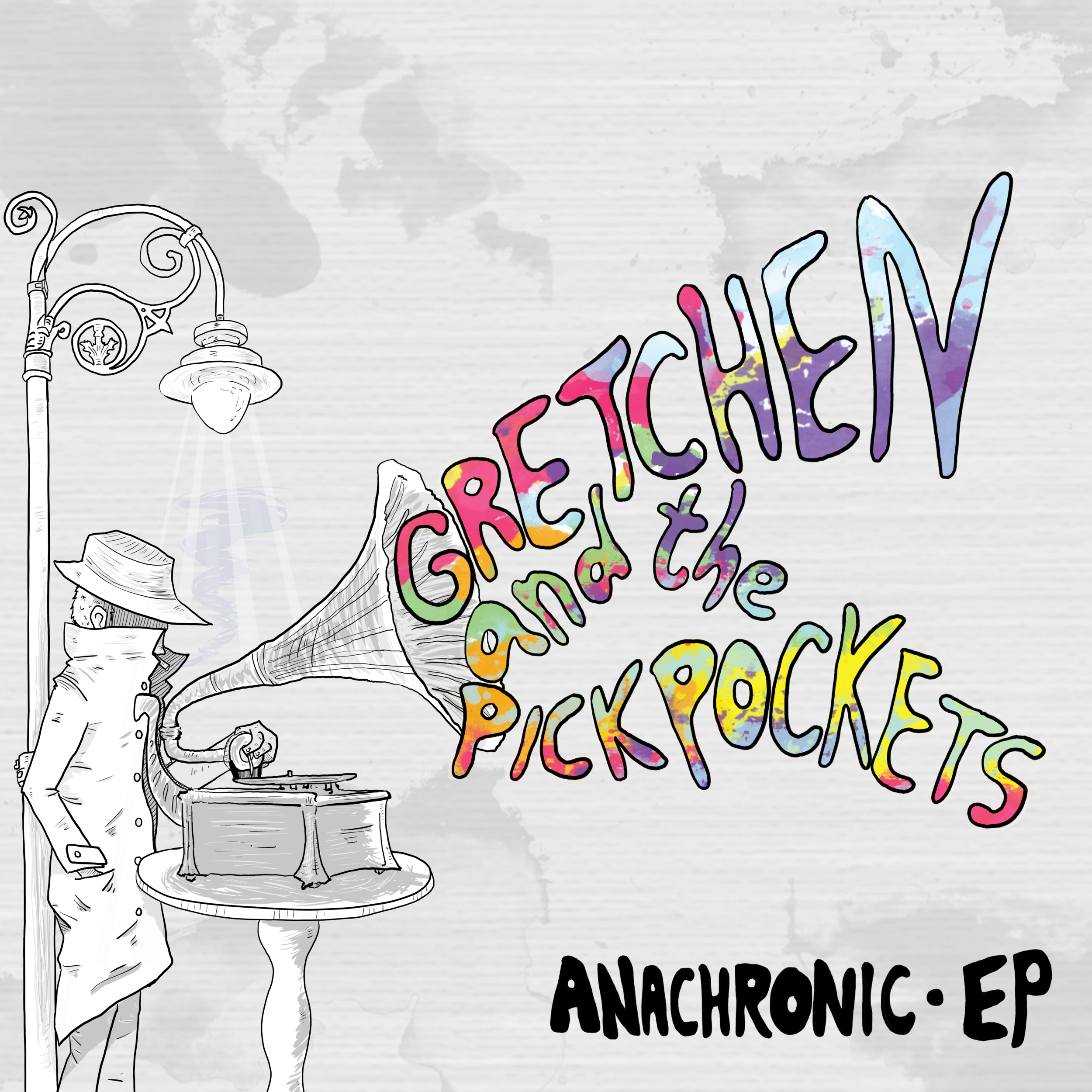 "Gretchen and the Pickpockets  - ""Anachronic""  2015"