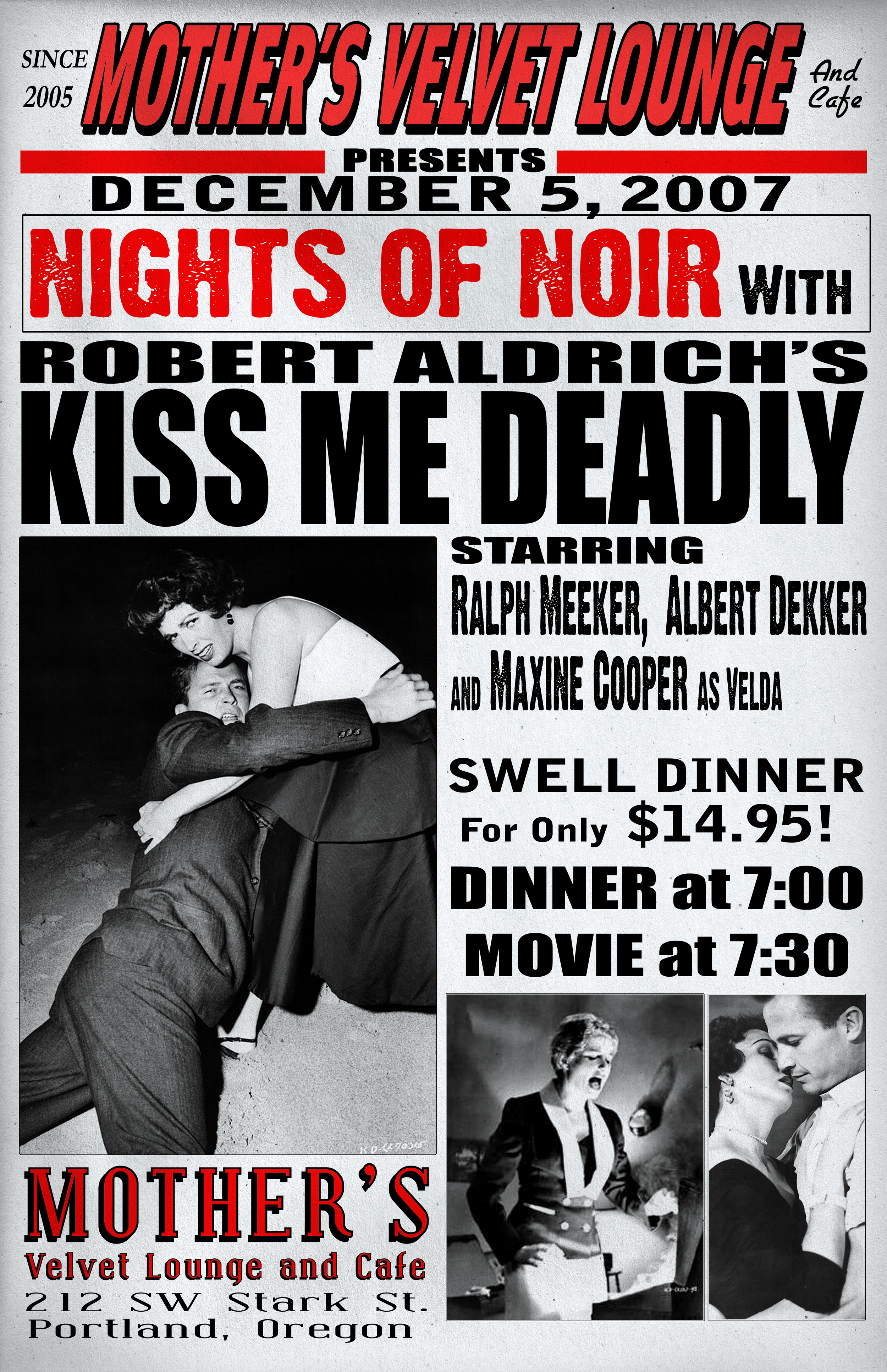 Kiss Me Deadly    (1955)  Robert Aldrich