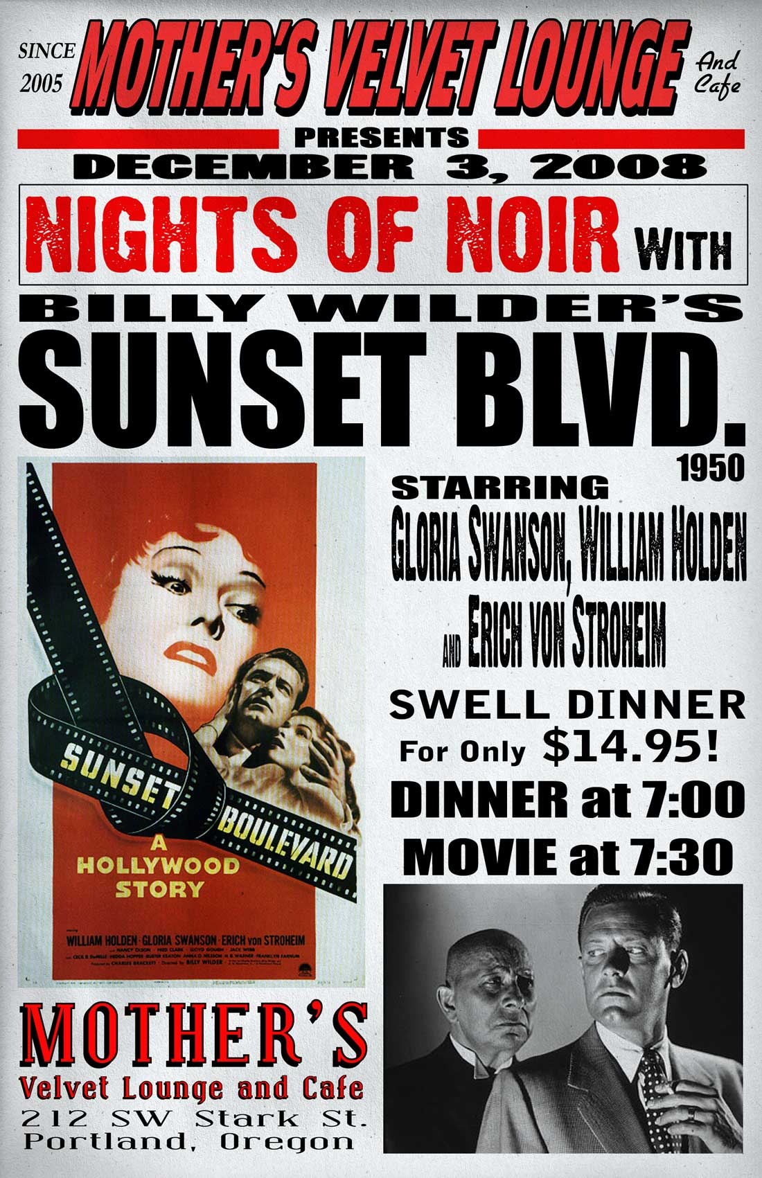Sunset Blvd.   (1950)  Billy Wilder