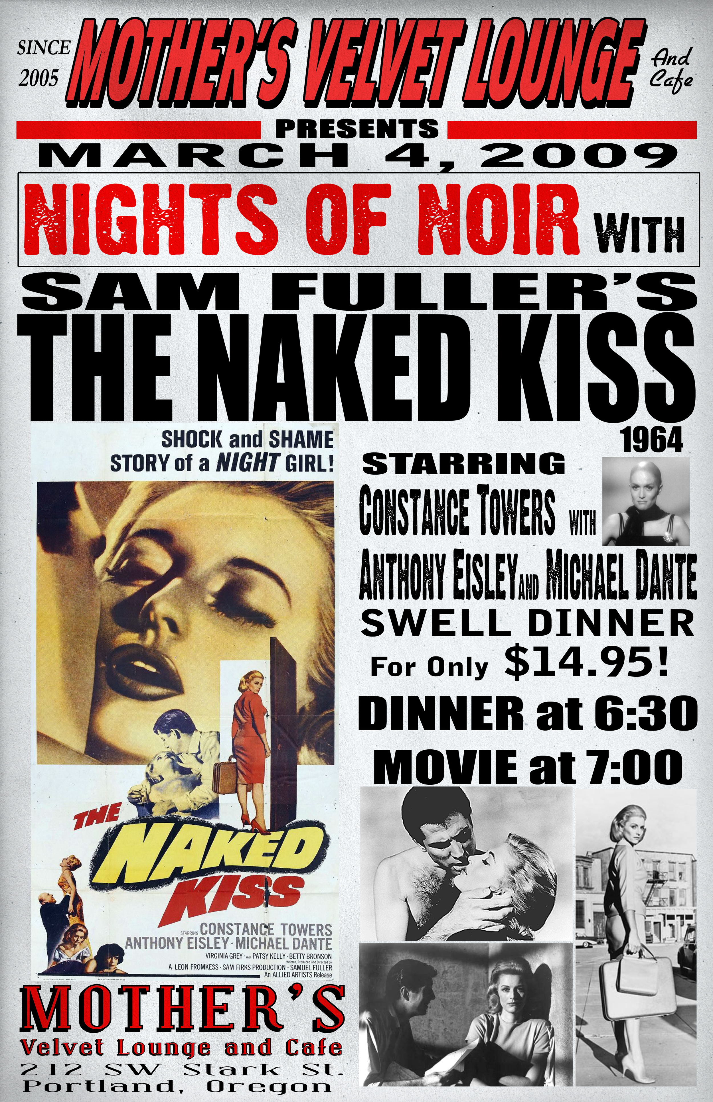 The Naked Kiss   (1964)  Samuel Fuller