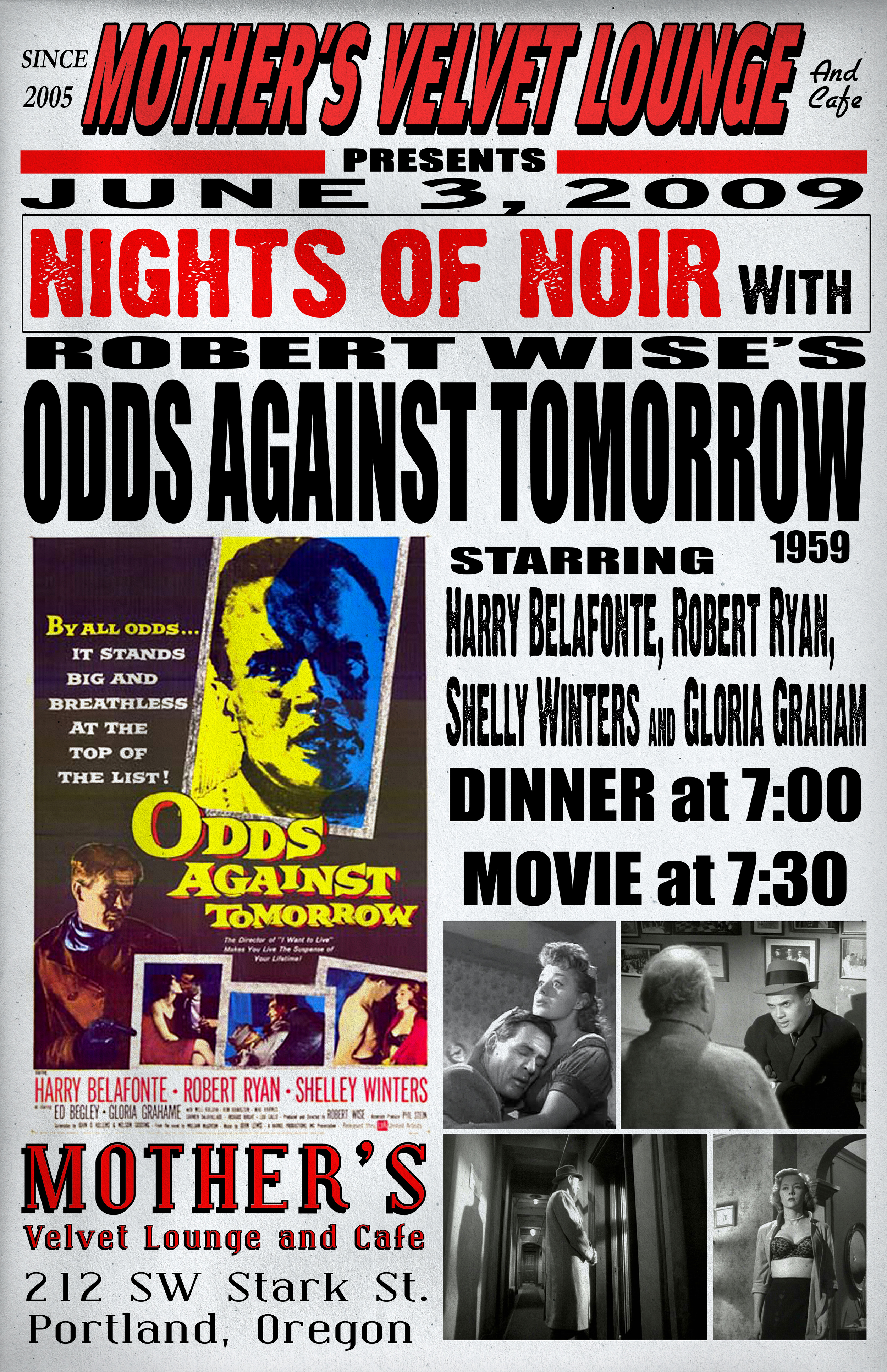 Odds Against Tomorrow   (1959)  Robert Wise