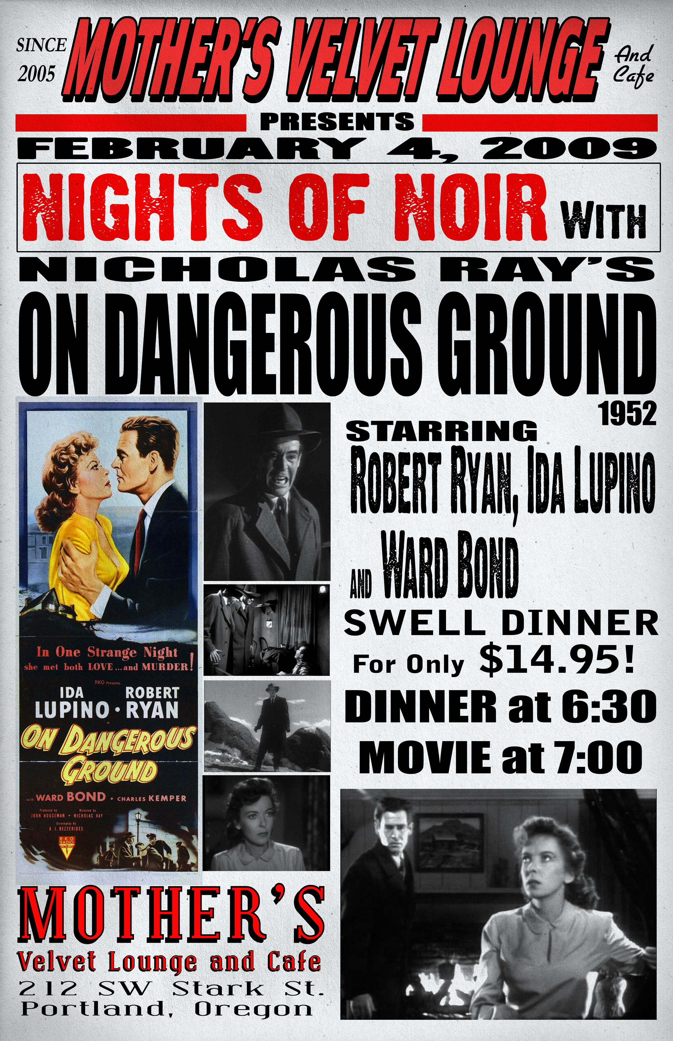On Dangerous Ground   (1952)  Nicholas Ray