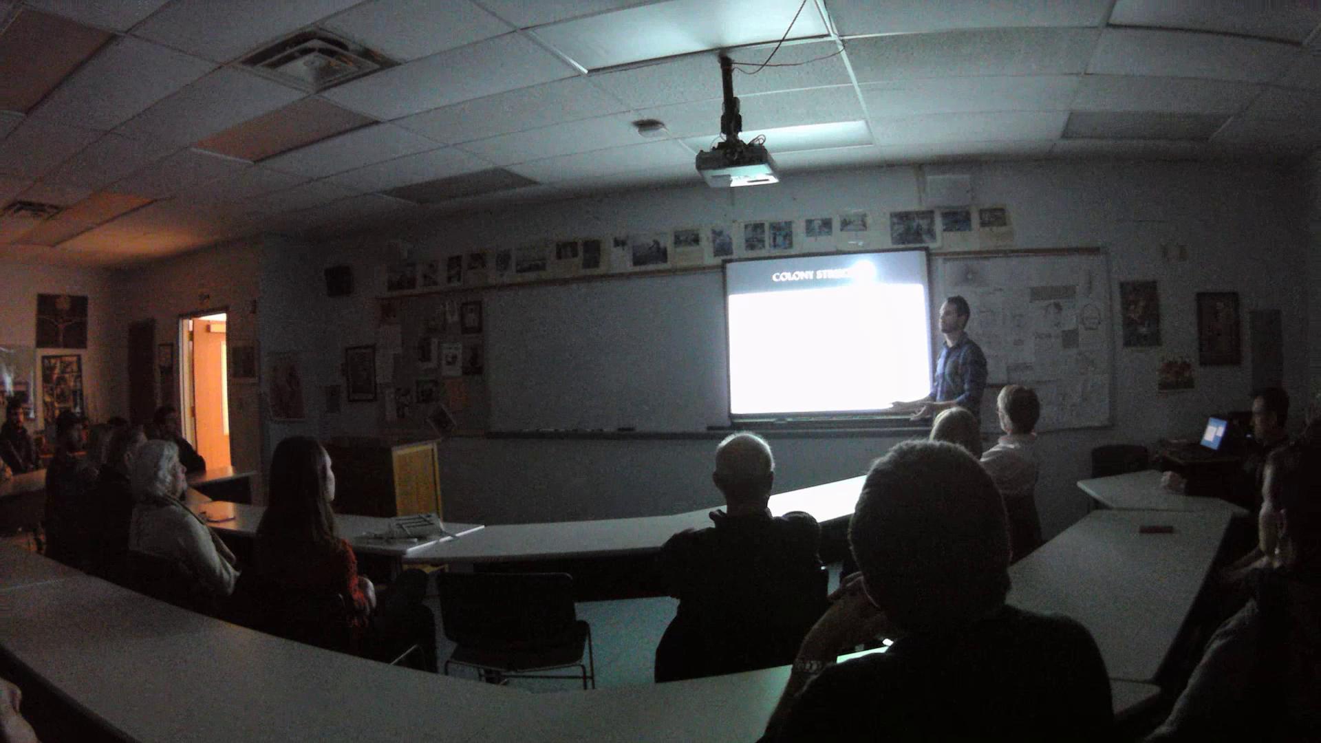 December 2014 public lecture at St. Louis University High School