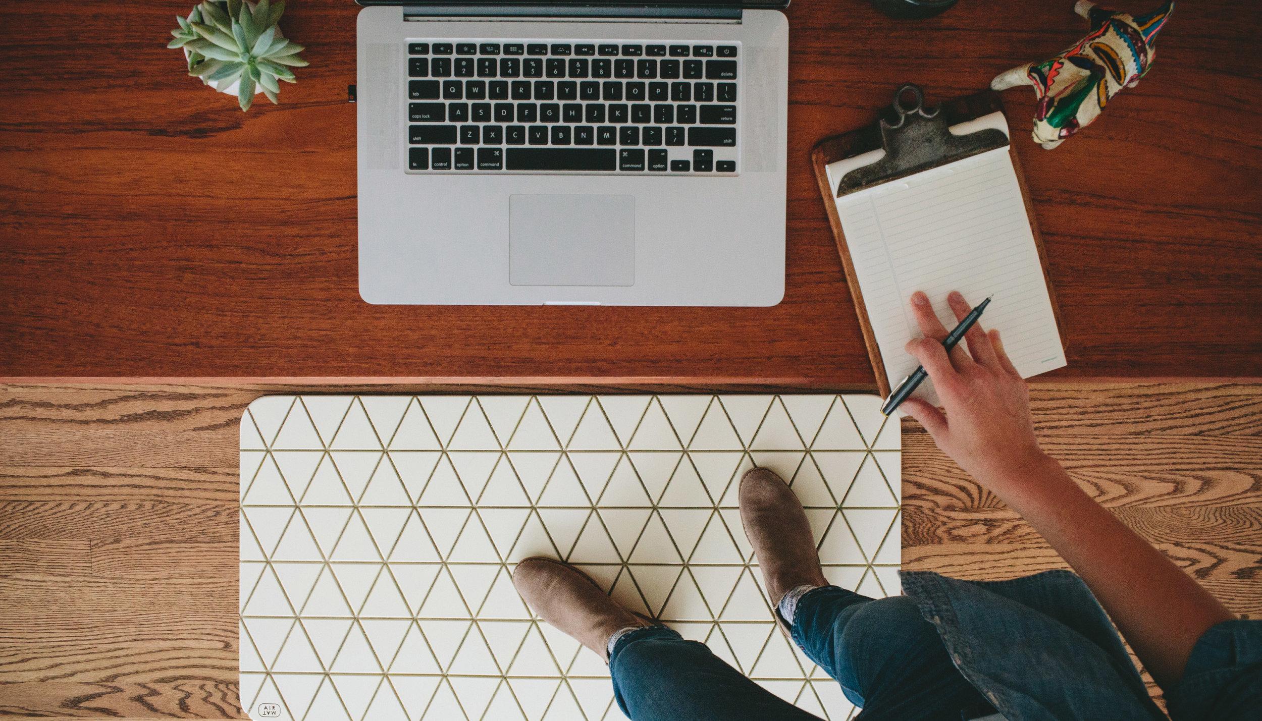 Airea Floor mat  White Standing Desk.jpg
