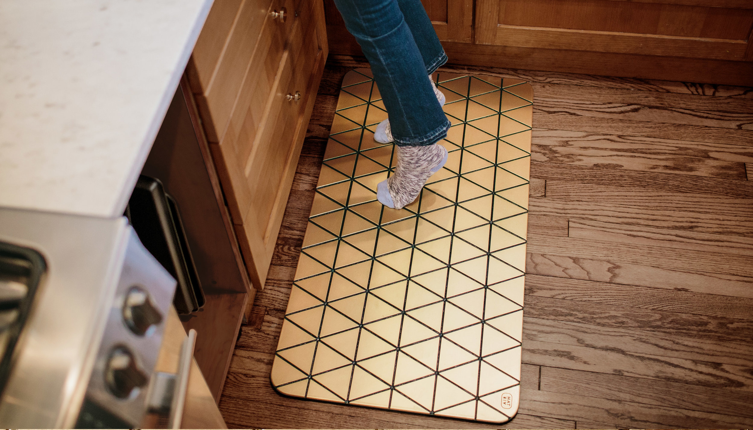 Airea Floor mat Gold Kitchen 4.jpg