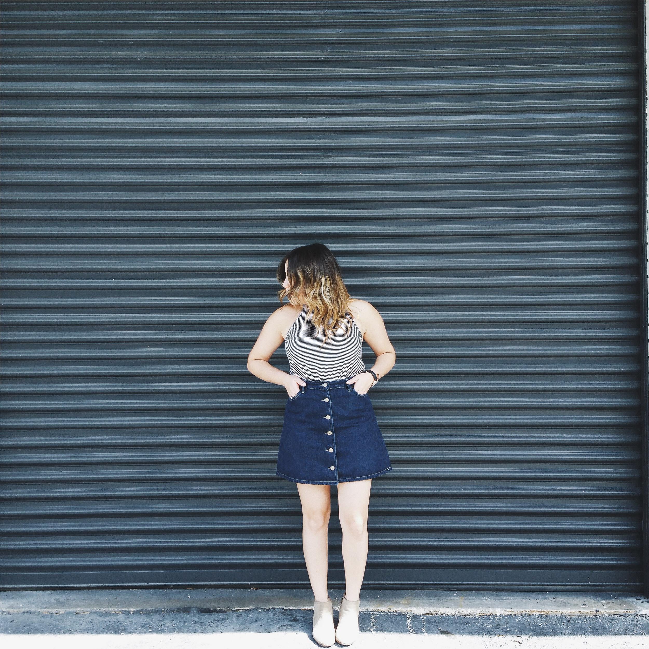 chicwish skirt-2 via @rosetoroses