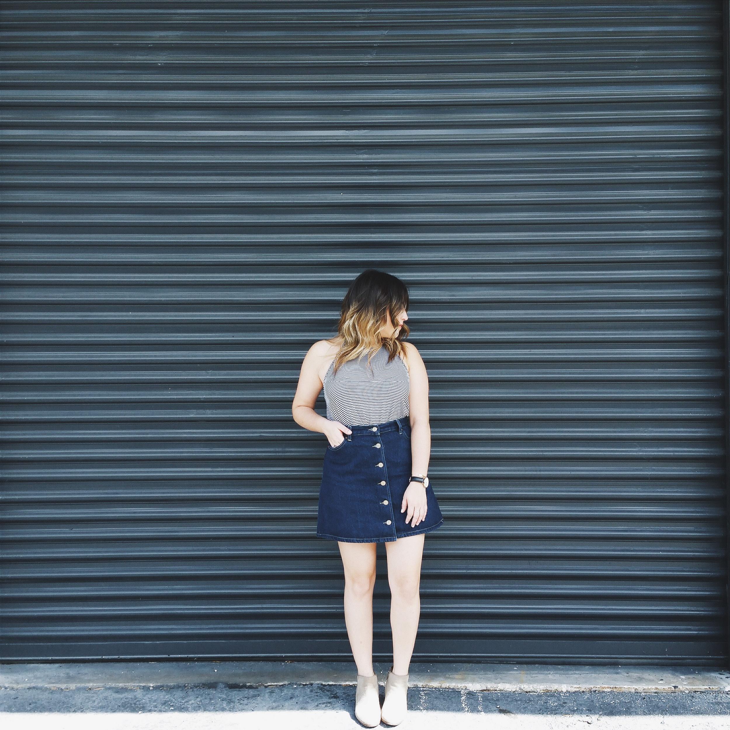 chicwish skirt-5 via @rosetoroses