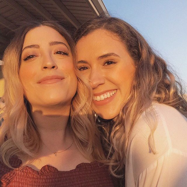 Golden hour with my golden babe ☀️💛