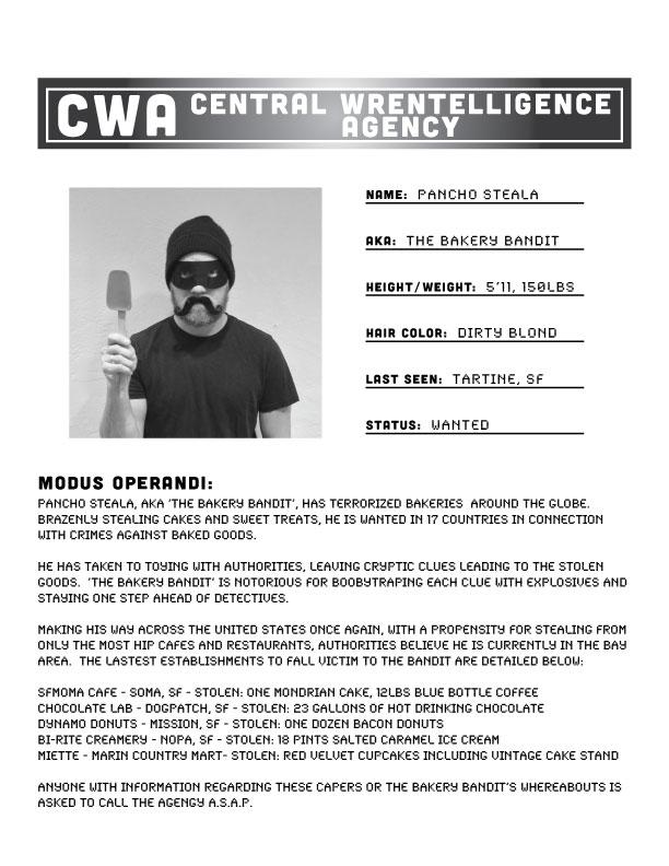 Bandit Rap Sheet