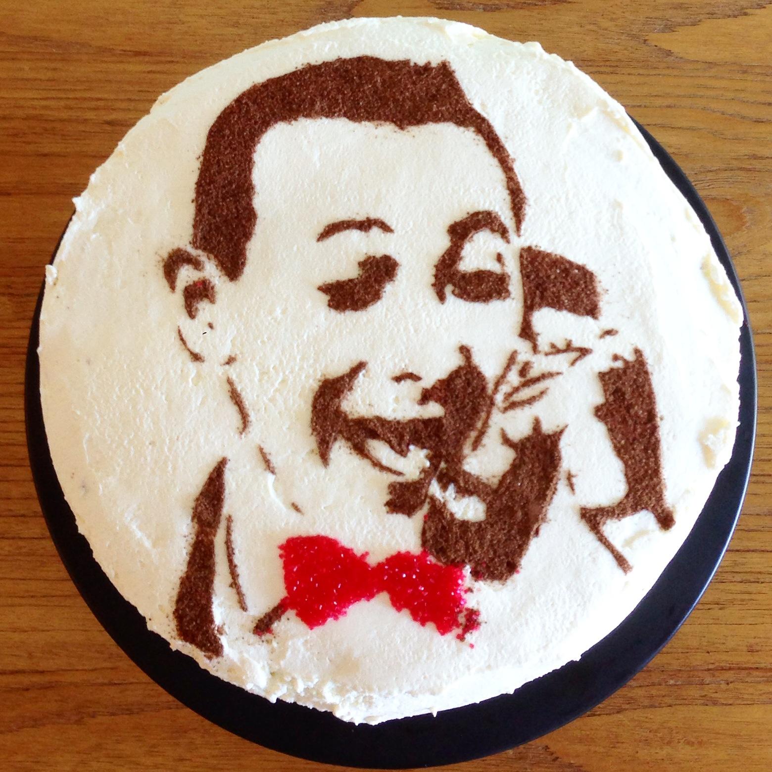 Pee-Wee cake