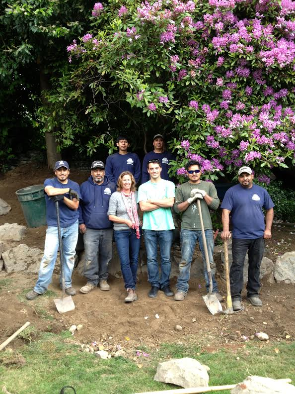 Team   The Company has several groups of dedicated landscapers and designers  who are capable of many tasks from installing new gardens.  From pathways to patios, fireplaces, fire pits, swimming pools  to constructing complex networks of irrigation and lighting systems. Carol and Co. are certified, insured, and bonded.