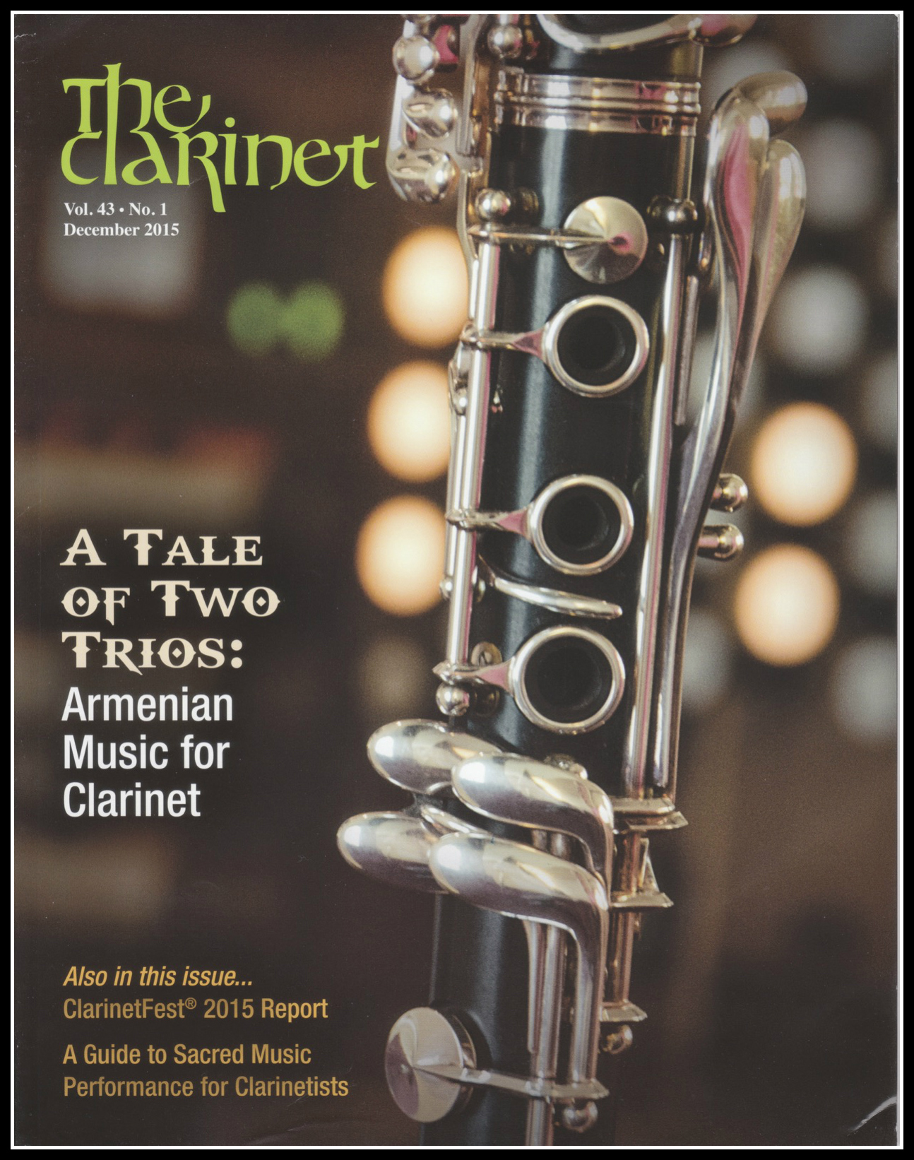 Check out the review of  Squeak Big: Practical Fundamentals for the Successful Clarinetist  from the December 2015 issue of  The Clarinet  (the journal of the International Clarinet Association).