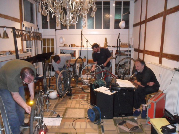 Akros rehearsing @ Matthias Kaul's studio, Hamburg, Germany