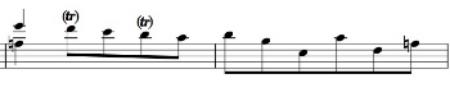 BWV 1010, Corrente, mm. 21-22