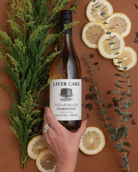 prop styling for Layer Cake Wines 2018