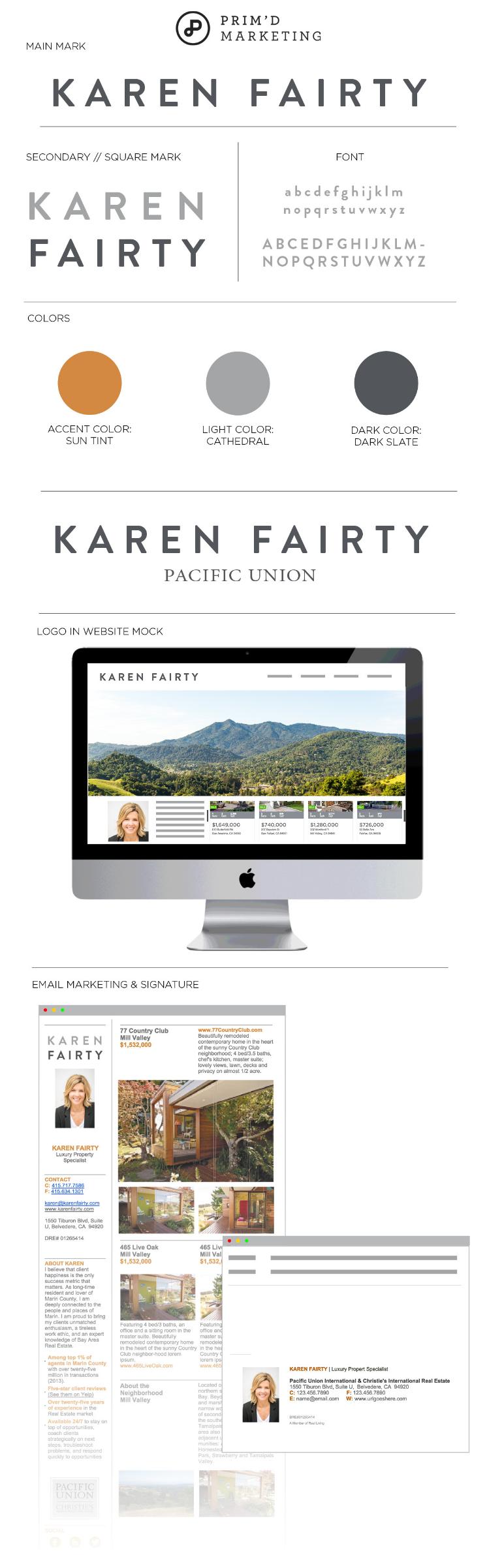 Primd Marketing - Case Study - Karen Fairty Branding