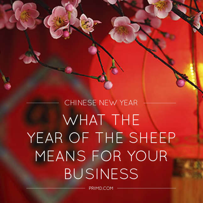 What The year Of The Sheep Means For Your Business - Prim'd Marketing blog