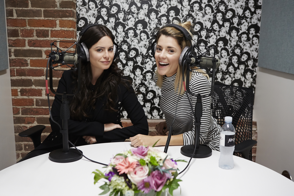 Sophia Amoruso interviewing Grace Helbig on #GirlbossRadio