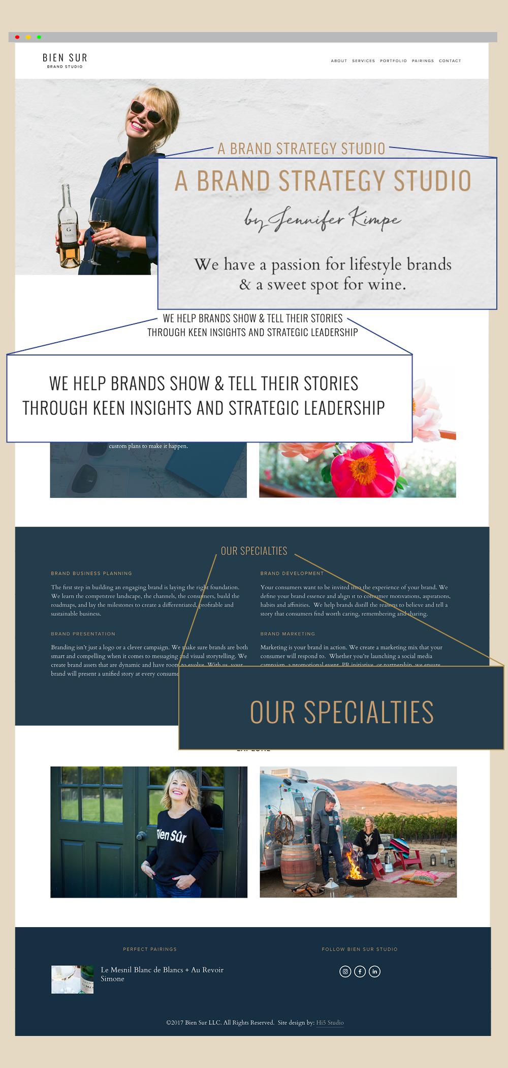 Primd Marketing - Case Study - Bien Sur Studio